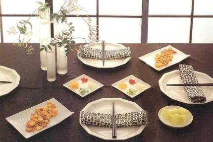 Японский минимализм. Сервировка стола.