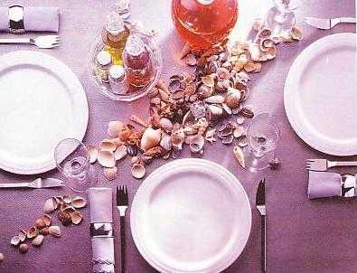 Сервировка стола Морские фантазии