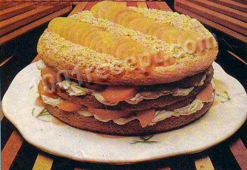 Рецепты домашних тортов с фото.